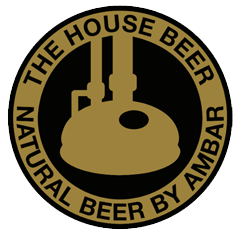 Logotipo Natural beer by ambar