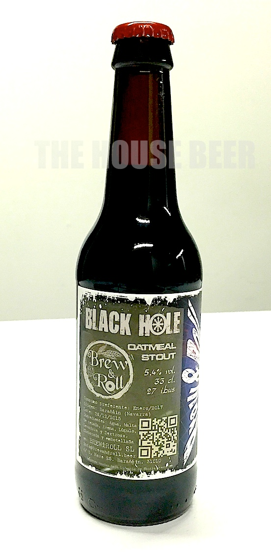 BREW & ROLL BLACK HOLE / OATMEAL STOUT