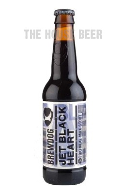 BREWDOG JET BLACK HEART / OATMEAL MILK STOUT