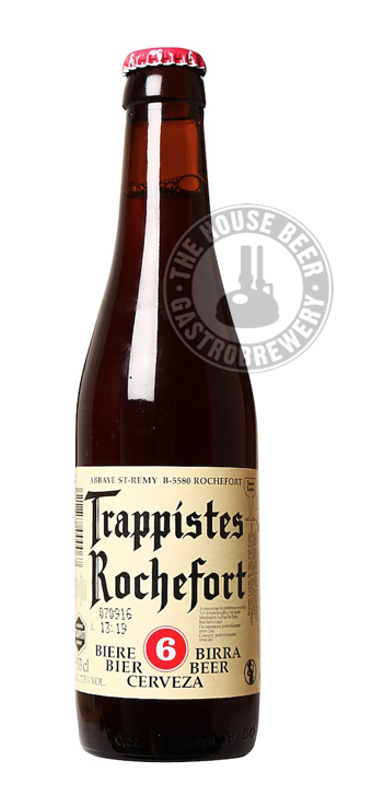 ROCHEFORT 6 / TRAPPIST BELGIAN STRONG ALE