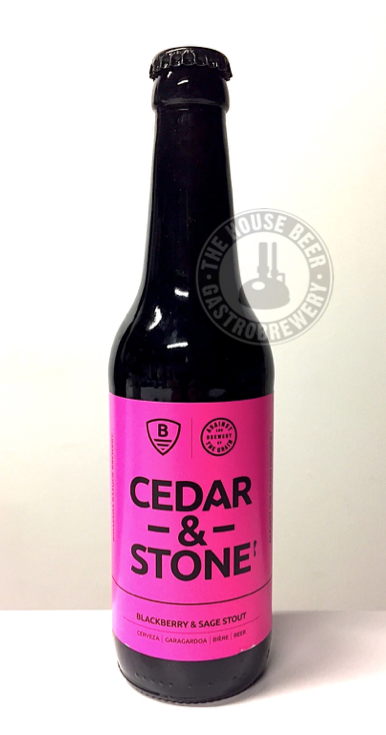 BIDASSOA + AGAINST THE GRAIN, CEDAR & STONE / BLACKBERRY SAGE STOUT