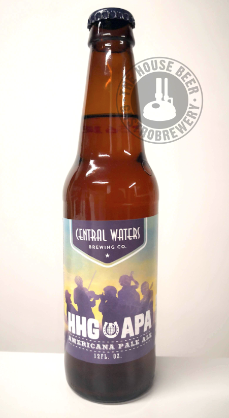 CENTRAL WATERS HHG APA / AMERICAN PALE ALE