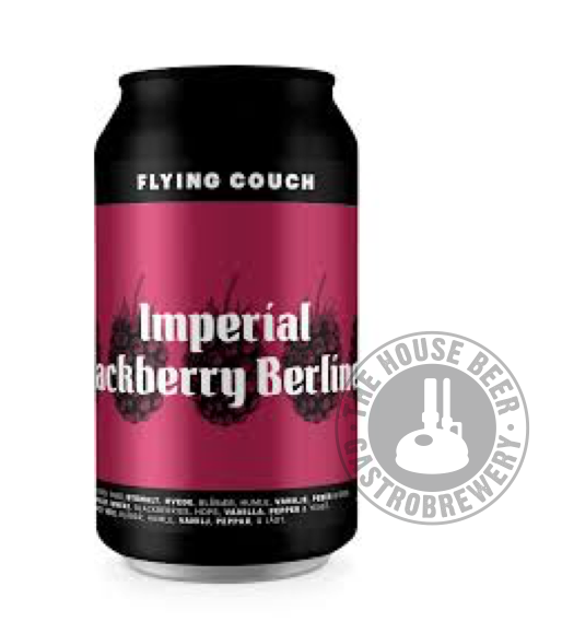 FLYING COUCH IMPERIAL BLACKBERRY BERLINER / Sour - Berliner Weisse con frutas