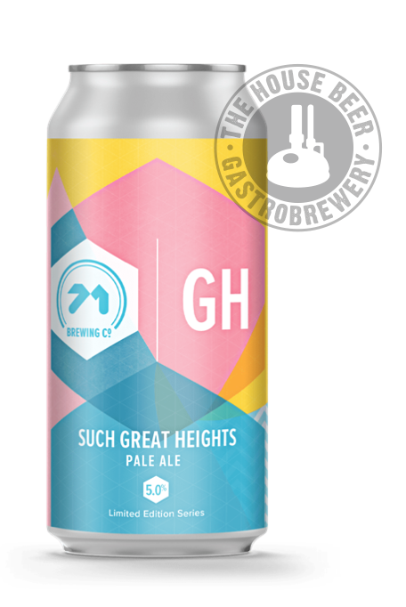 71 BREWING, SUCH GREAT HEIGHTS / BELGIAN PALE ALE