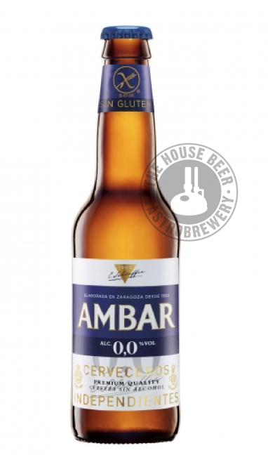259. AMBAR SIN GLUTEN SIN ALCOHOL / PALE LAGER